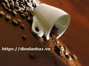 khử mùi hôi tủ lạnh bằng cafe