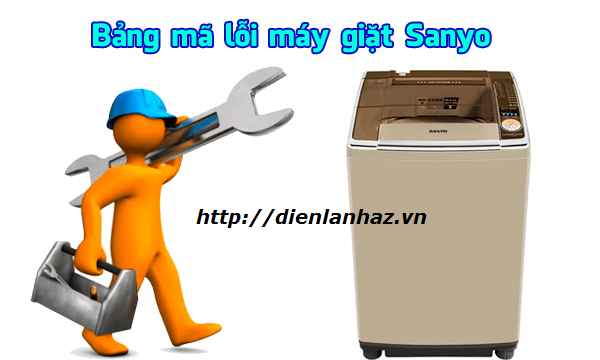 ma loi may giat sanyo