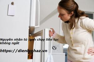 Nguyên Nhân Tủ Lạnh Chạy Liên Tục Không Ngắt Và Cách Sửa