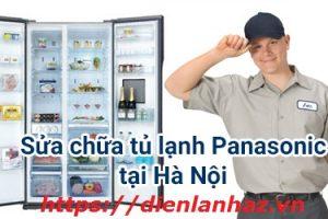 Sửa Tủ Lạnh Panasonic inverter, không lạnh, không chạy, nháy đèn