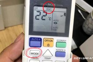 Cách bật điều hòa chạy chiều nóng chính xác 100% [ Có Video ]
