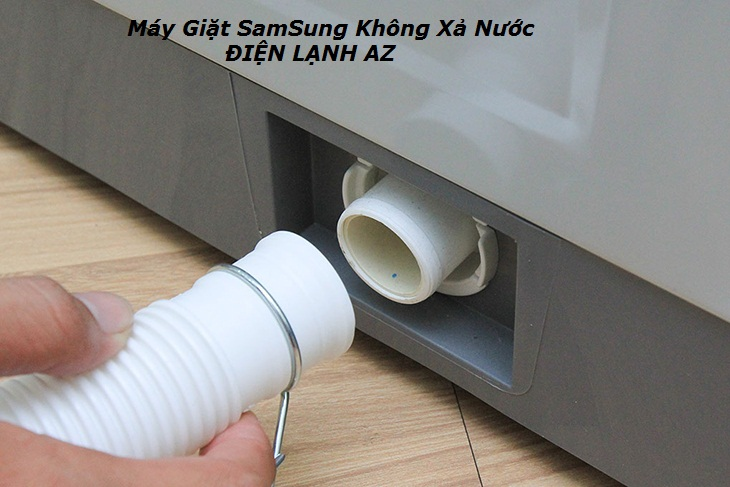 may giat samsung khong thoat nuoc