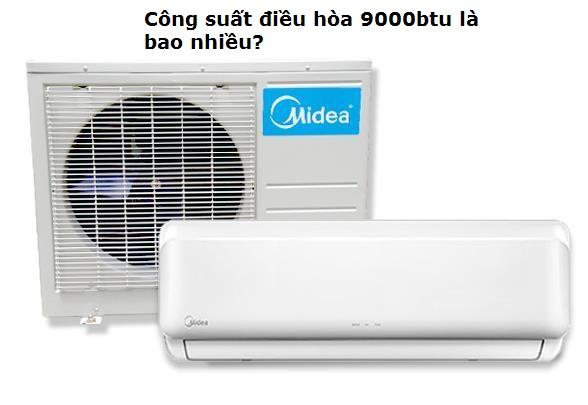cong suat dieu hoa 9.000btu